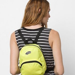 Gorgeous, Vans neon yellow mini backpack ❤️